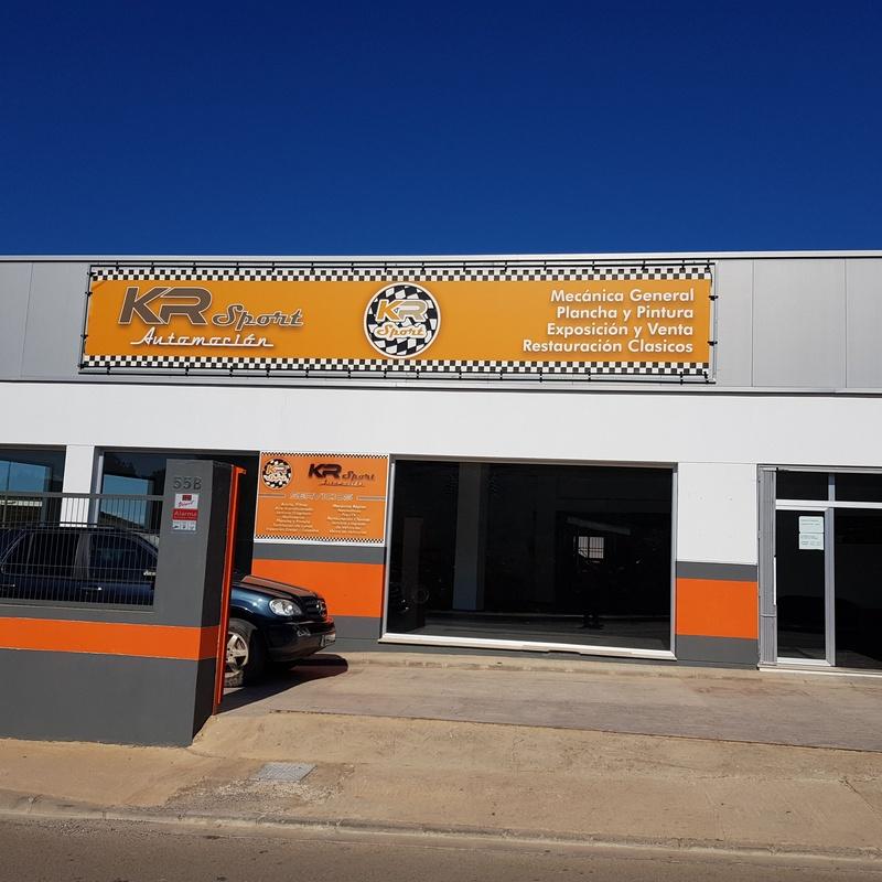 Reparación de coches de competición: Servicios de KR Sport Automoción