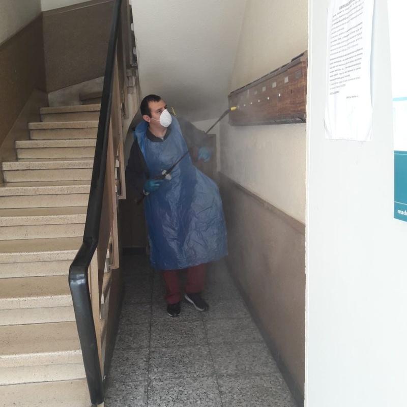 LIMPIEZA Y DESINFECCIÓN DE COMUNIDADES: Limpiezas de Limpiezas Vimaram, S.L.