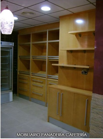Mueble para panadería: Catálogo de Carpintería Hachedecor