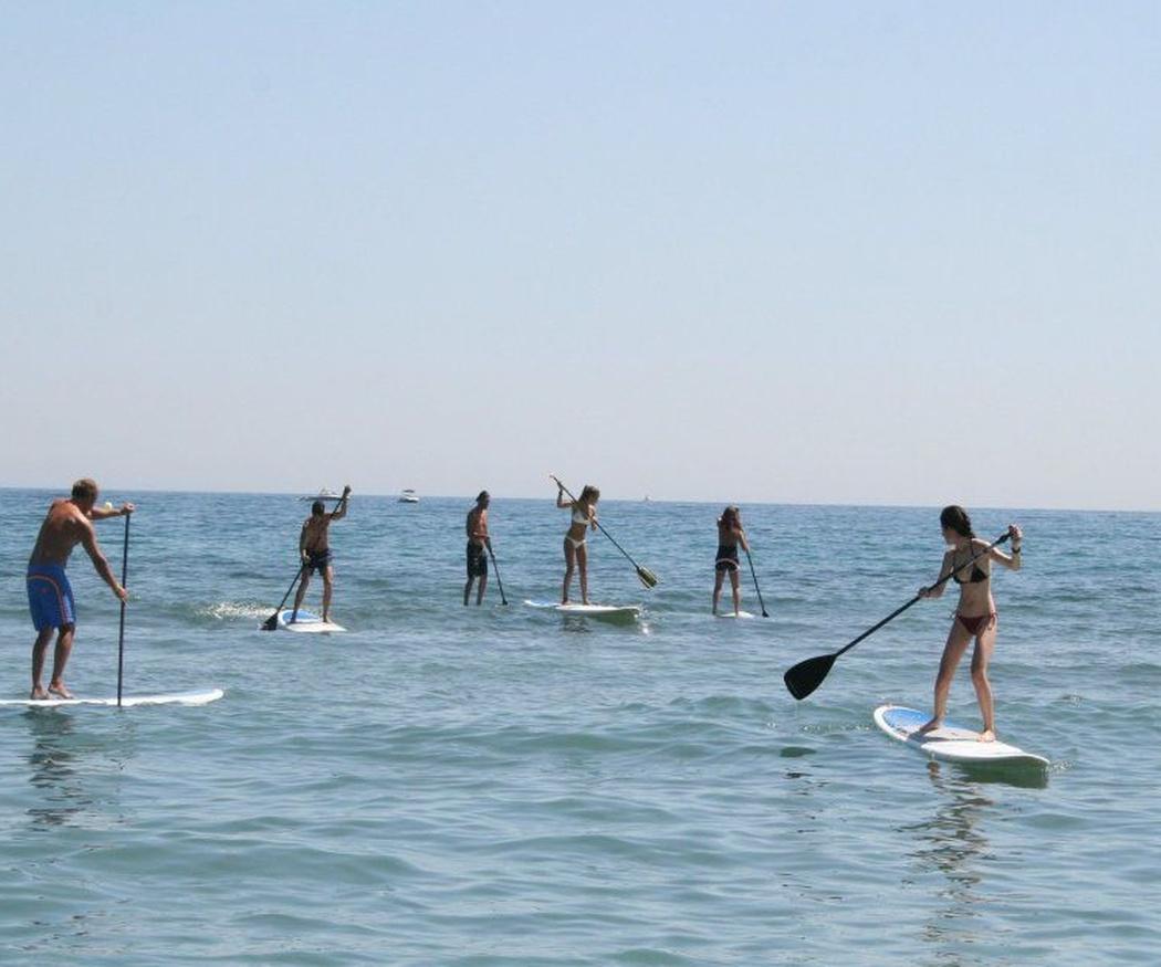 ¿Aun no has probado el paddle surf?
