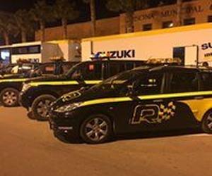 Vehículos de rescate para eventos deportivos en Santander