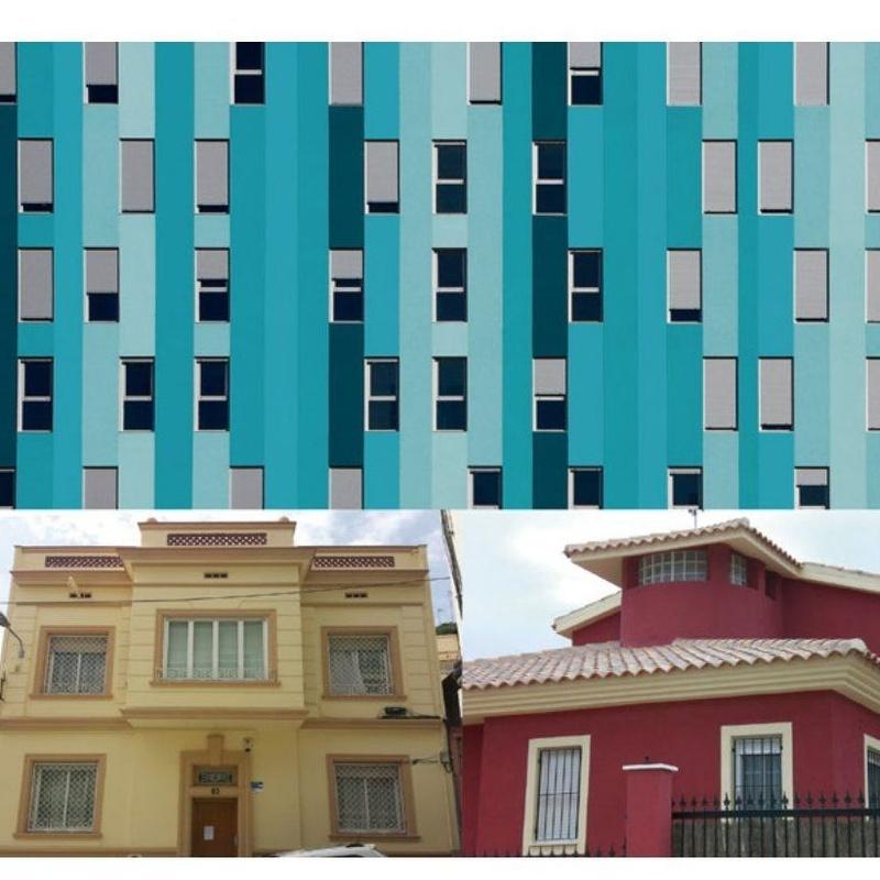 Pintura y decoración de exteriores : Servicios de Decoisi
