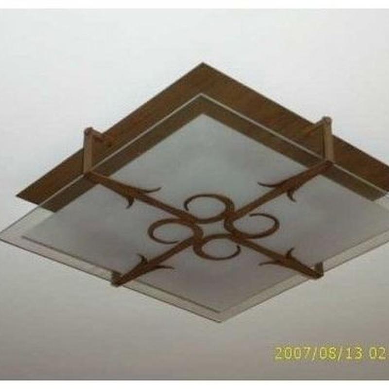 Iluminación de forja: Productos de Arteforja JMC