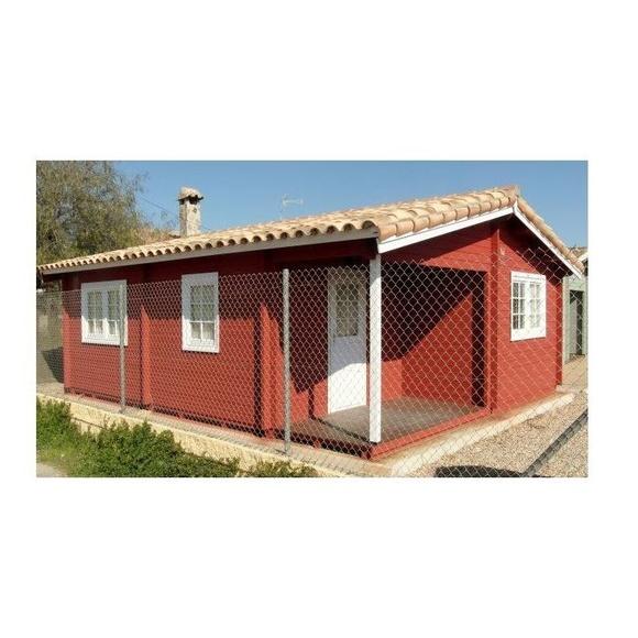 Almería (44 m2): Casas de madera de 5SCC Casas de Madera