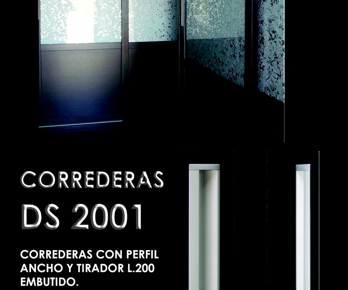 FRENTE CORREDERO DS 2001: CATALOGO  de Altxa