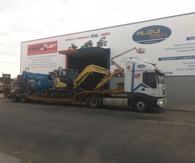 Alquiler maquinaria obra publica en Zamora