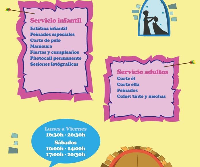 CORTE DE PELO PARA NIÑOS DE 0-16 AÑOS: NUESTROS SERVICIOS de AL TROTE ZONA INFANTIL, S.L.