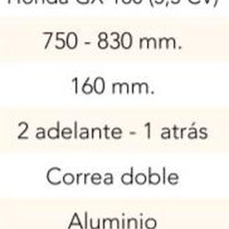 MOTOAZADA 3 VELOCIDADES C/MOTOR HONDA GX160 Cód. HS-002: Productos y servicios de Maquiagri