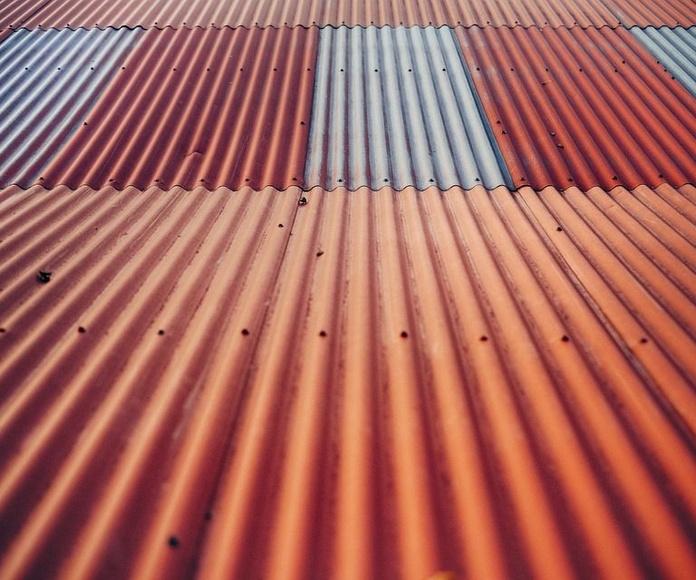 Chapa trapezoidal para cubiertas