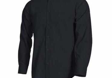 Camisa clásica para hombre manga larga