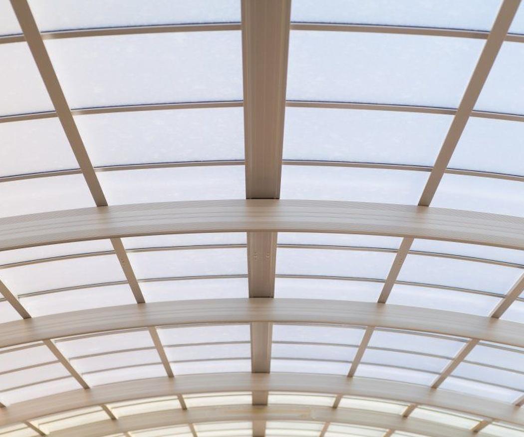 Ventajas de los techos de cristal