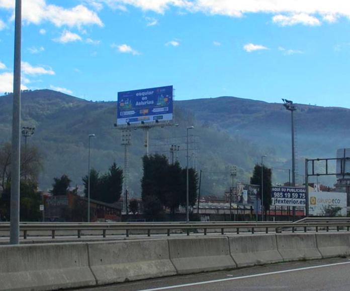 monoposte Mieres. - Asturias