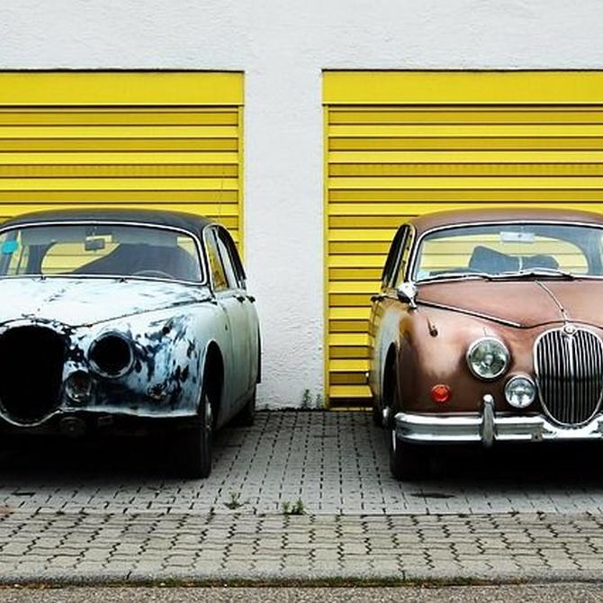 Mantenimiento de puertas metálicas para garajes