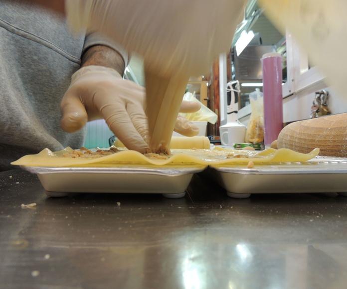 Pasta fresca sin conservantes ni aditivos en Barcelona