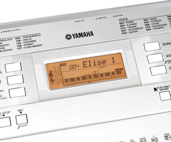 Teclado Yamaha YPT 340 usb teclas sensibles iniciacion