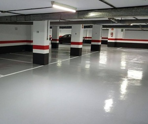 Pintura de garajes en Las Palmas