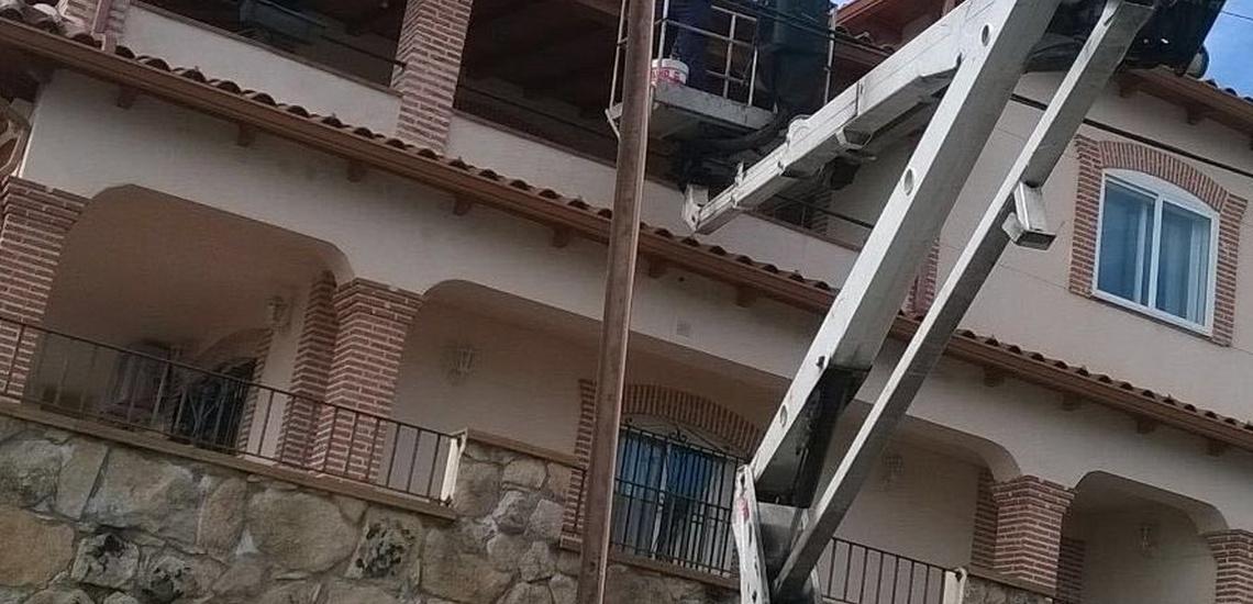 Instalación de canalones en Toledo