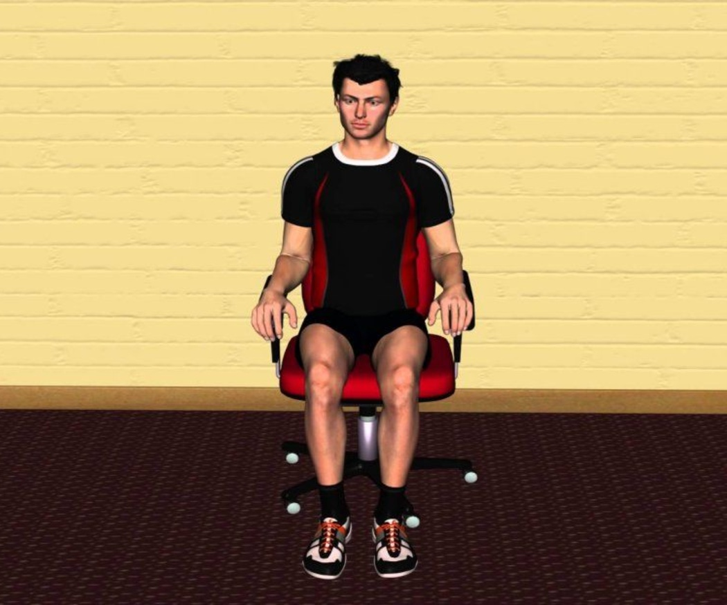 La postura correcta al sentarse