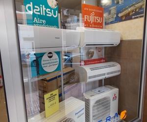 Venta y exposición de equipos de climatización