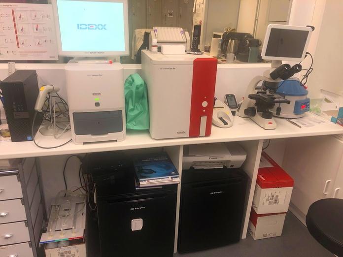 Laboratorio: Servicios de La Chopera Hospital Veterinario