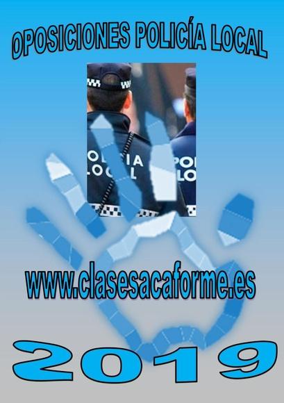 60 NUEVAS PLAZAS POLICÍA LOCAL