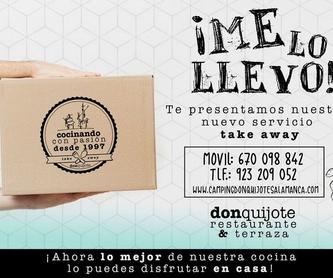 Nuestra carta!!!: Servicios de Camping Don Quijote