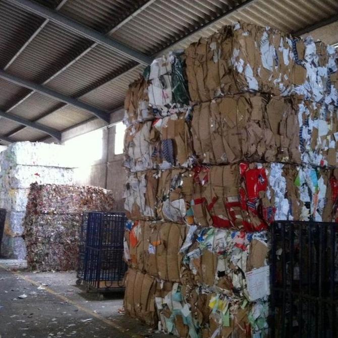 Las variedades de cartón más recogidas para su reciclaje