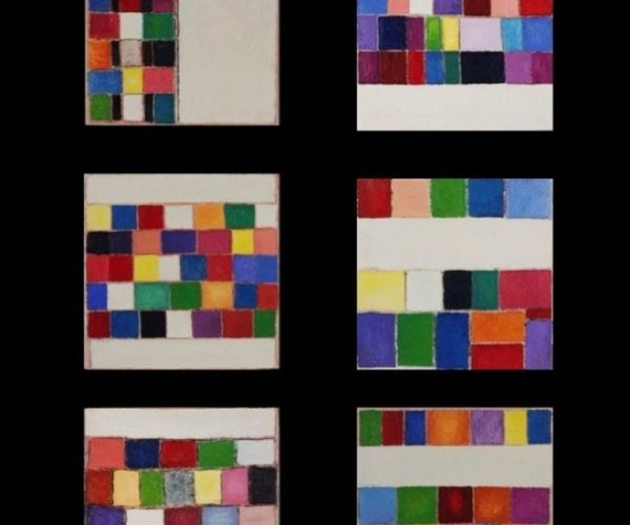 Serie Abstracta I. 155 X 115 cm .