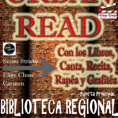 Urban Read en la Biblioteca Regional de Murcia