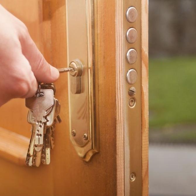 Elegir la puerta exterior