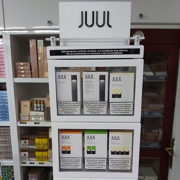 Vaped POD JUUL