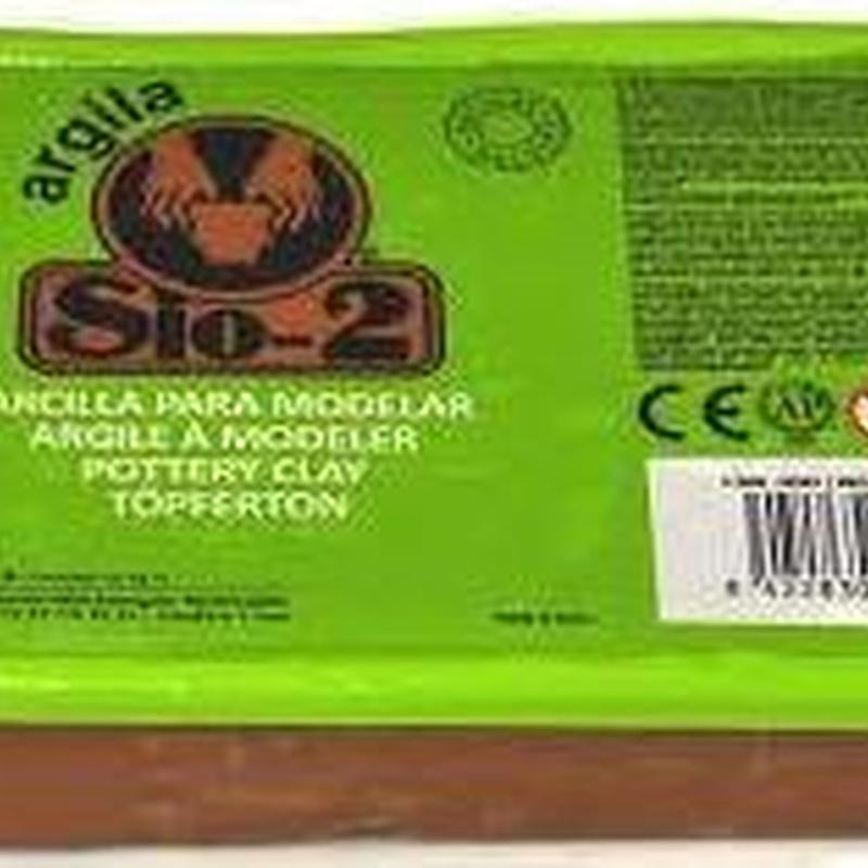 SIO-2 ARGILA 1,5 kg Rojo. Ref.20 940 001 | EAN8 422830 000005