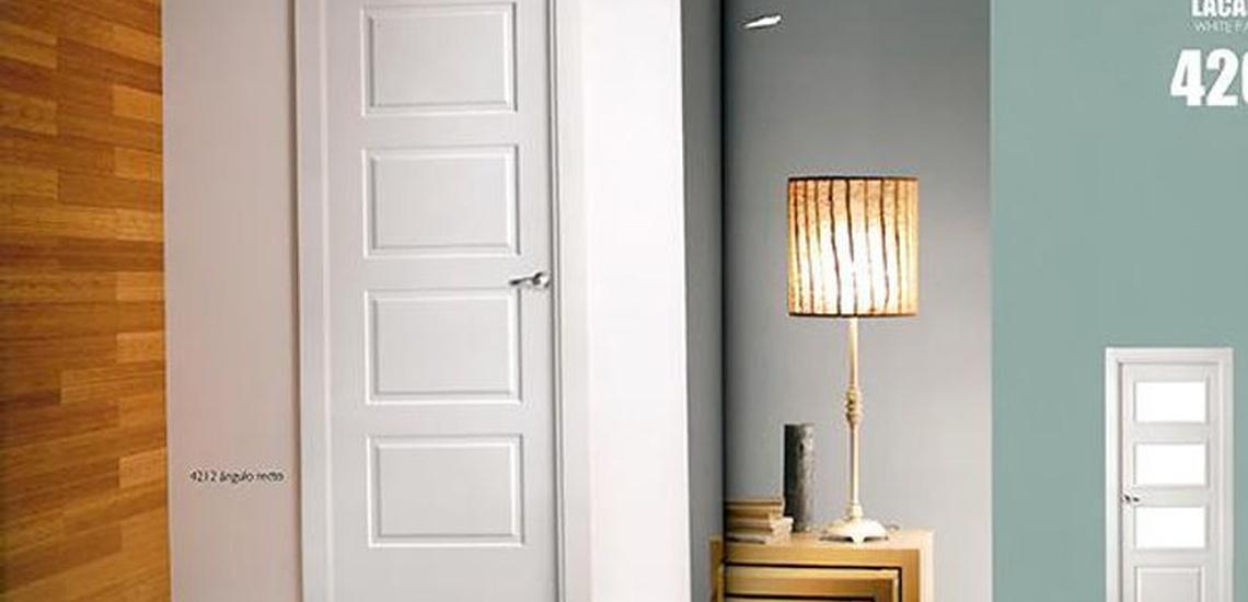 Puertas de interior color blanco en Asturias