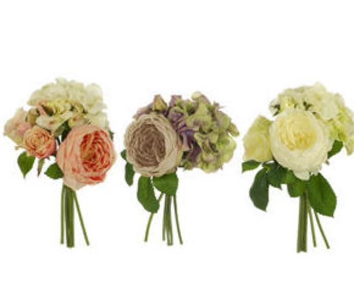 Bouquet Rosa-Hortensia x6 Palace Silk