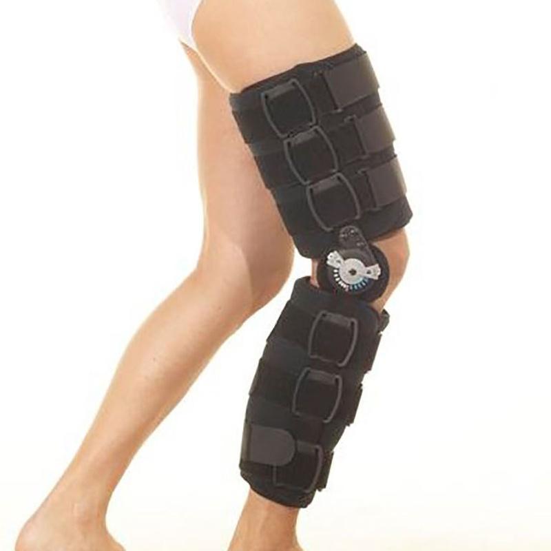 Inmovilizador de rodilla post-quirúrgico y post-traumático