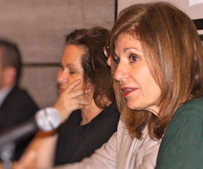 Teresa de la Rosa Vilar, Presidenta de San Miguel Adicciones en un momento del Acto Inaugural