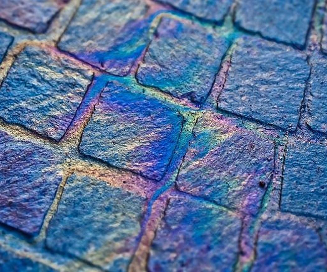 El pavimento impreso