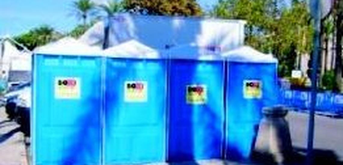 Alquiler de baños portátiles en Mallorca con traslado incluido