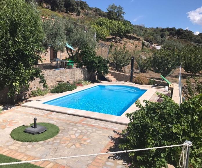 fabricación e instalación de piscinas Luymar