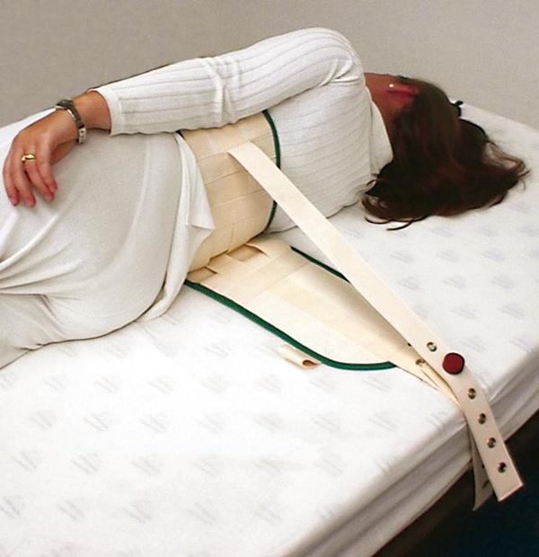 Cinturón de sujeción abdominal