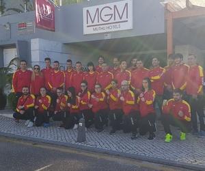 Selección española de kenpo para el mundial de 2017