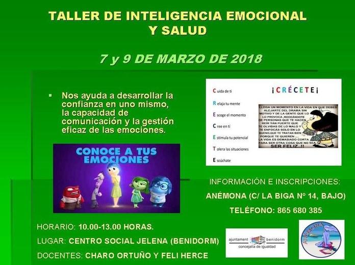 Taller de Inteligencia Emocional y Salud: Especialidades de Psicóloga Rosario Ortuño