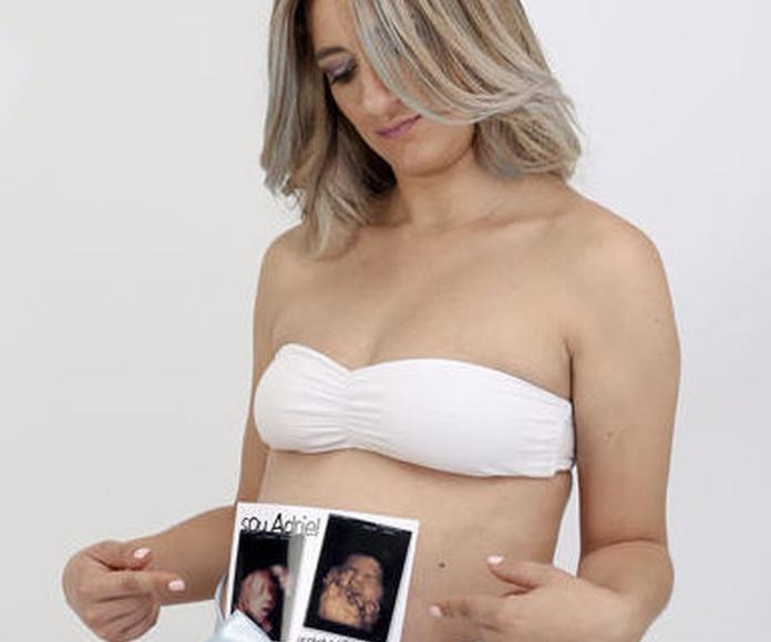 Sesión de fotos embarazo ecobebé 5D