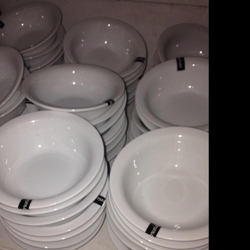 Porcelana blanca