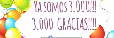 3000 likes en facebook