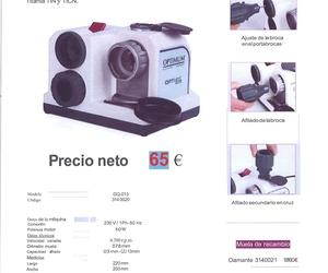 OFERTA AFILADOR DE BROCAS