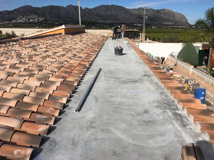 Restauración de fachadas y tejados: Servicios de Multiservicios DyD