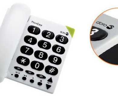 Teléfonos y mayores.