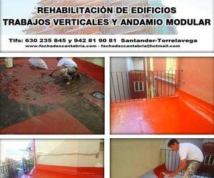 Impermeabilitación de terrazas y cubiertas Santander Torrelavega