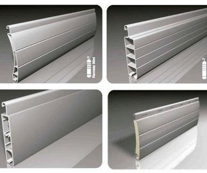 Persianas enrollables de PVC o de aluminio?
